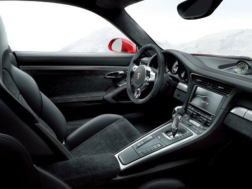2014-Porsche-911-GT3-interior Review On Porsche 911 GT3