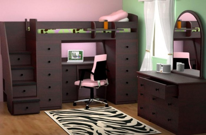 22-808-28 Make Your Children's Bedroom Larger Using Bunk Beds