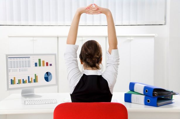 232 Resolve Your Body's Tension At Work By Doing Computer Yoga
