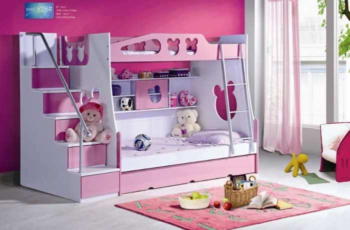 511808412_191 Make Your Children's Bedroom Larger Using Bunk Beds