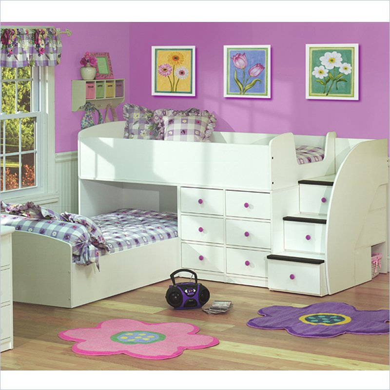 52452-L Make Your Children's Bedroom Larger Using Bunk Beds