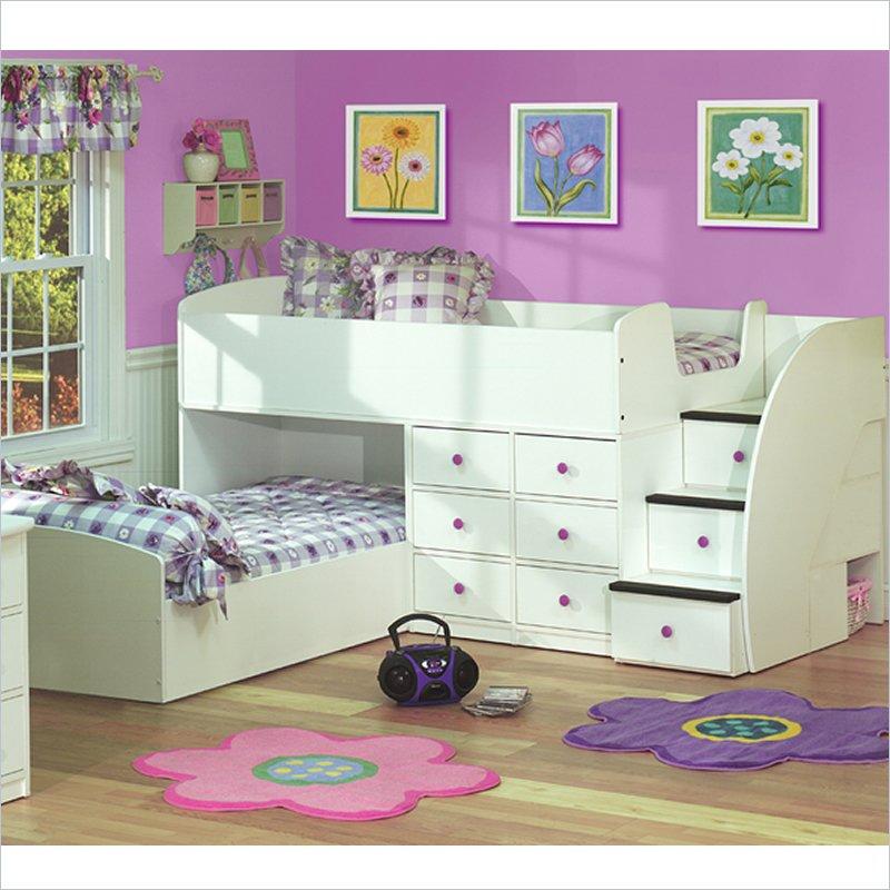 52452-L Make Your Children's Bedroom Larger Using Bunk Beds