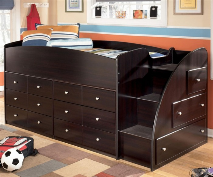 ASB239-68T-3-2 Make Your Children's Bedroom Larger Using Bunk Beds