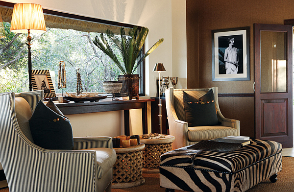 African-living-room African Style In The Interior Design