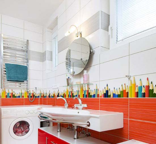 Awesome-Children-Bathroom-2 25 Ideas Of Modern Designs For Kids Bathroom