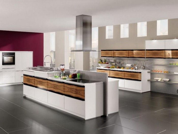 Best-Modern-Kitchen-Images-Ideas 45 Elegant Cabinets For Remodeling Your Kitchen