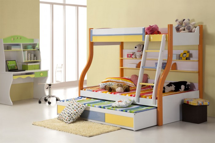 Bunk-Beds-For-Kids-1 Make Your Children's Bedroom Larger Using Bunk Beds