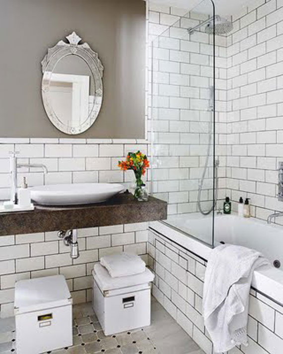 Casual-Vintage-Loft-Interior-Design6 16 Stunning Designs Of Vintage Bathroom Style