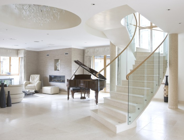Contemporary-Staircase-Design-Ideas-06 Turn Your Old Staircase into a Decorative Piece