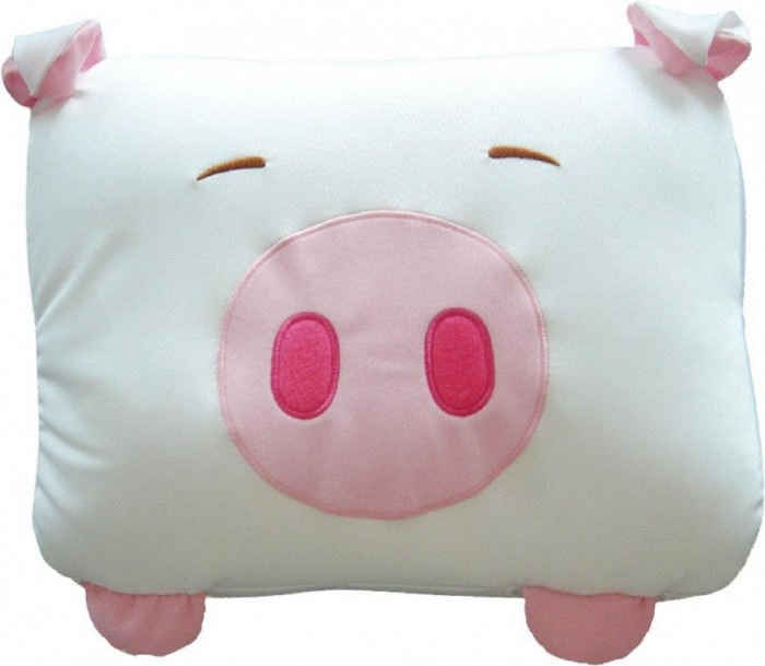 Cute-Piggy-Pillow-White-Pink-Colors-Funny-Pillows-Design-915x797 21 Unique And Cute Pillows Designs