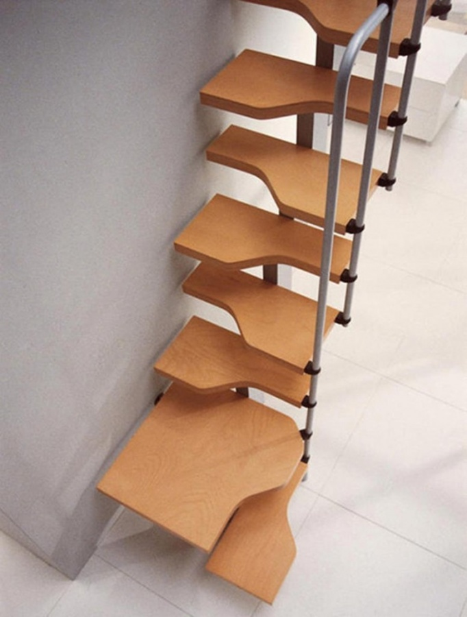 Decoration-Unique-Staircase-Designs-2-Unique-Stair-Designs-for-Unique-Home-Interior Turn Your Old Staircase into a Decorative Piece