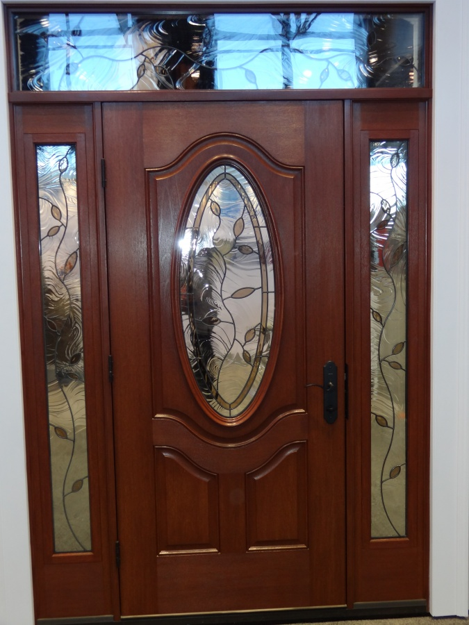 Decorative_door_glass_in_front_door_sidelight_and_transom It Is Not Just a Front Door, It Is a Gate