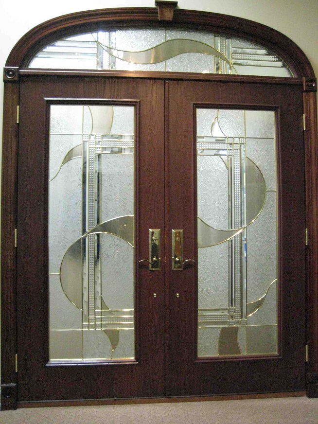 Double-Entry-Doors-Fiberglass It Is Not Just a Front Door, It Is a Gate