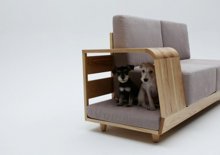 Double-decker-sofa-The-comfortable-and-creative-sofas-dog-can-rest-in 50 Creative and Weird Sofas for Your Home