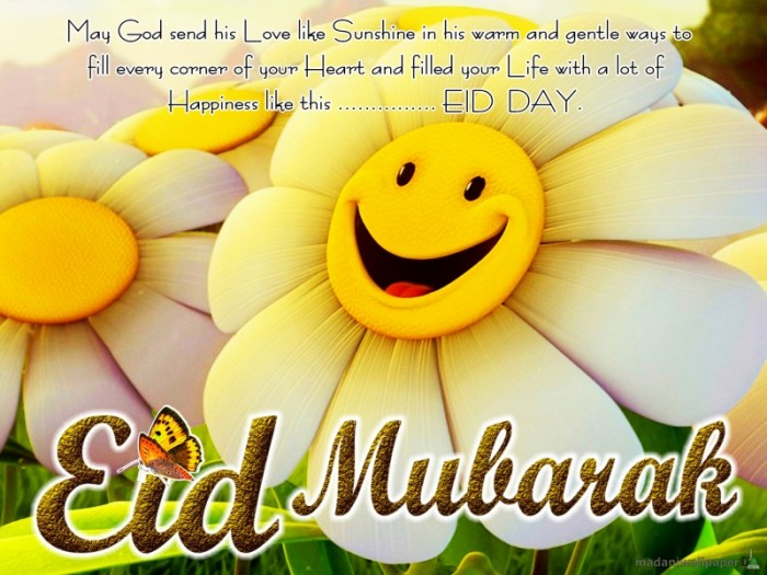 Eid_Mubarak_2013_Quotes_in_English 60 Best Greeting Cards for Eid al-Fitr
