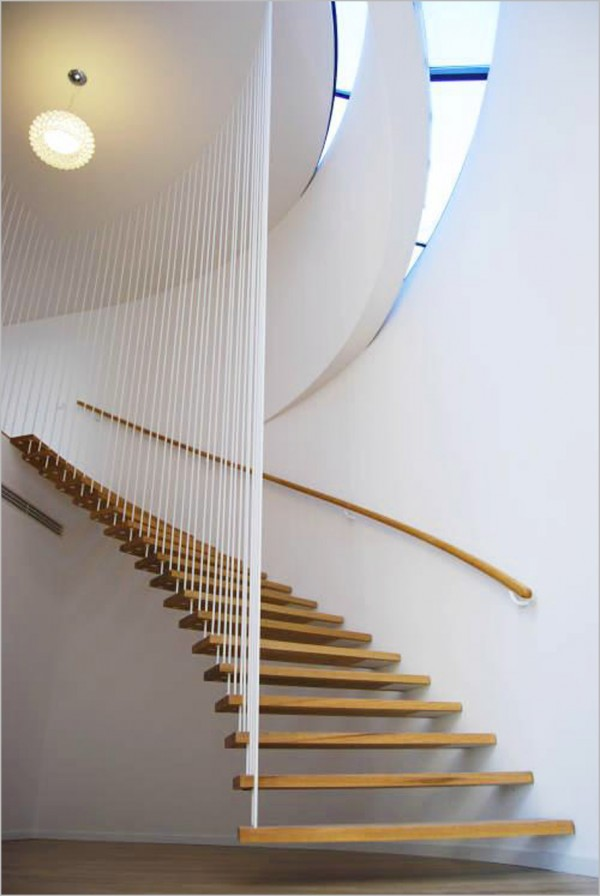 Floating-Staircase-Design-Idea Turn Your Old Staircase into a Decorative Piece