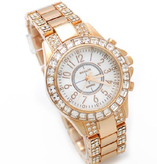 Free-Shipping-W-02-Diamond-Luxury-Shining-Women-Dress-Watch-Stainless-Steel-Diamond-Watches-Japan-Movement 24 Most Luxury Watches For Women And How To Choose The Perfect One?!