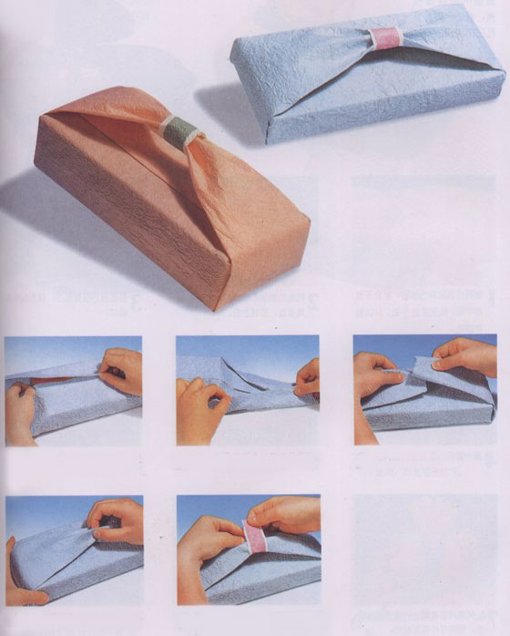 GiftWrapping-2 35 Creative and Simple Gift Wrapping Ideas