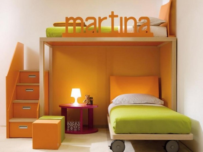 Girls-Bunk-Beds-Plans Make Your Children's Bedroom Larger Using Bunk Beds