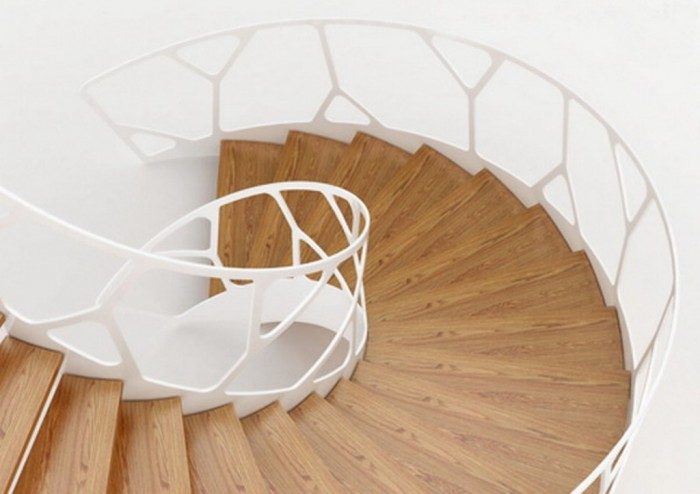 Home-Improvement-Ideas-with-Organic-Staircase-Design-from-Eestairs Turn Your Old Staircase into a Decorative Piece