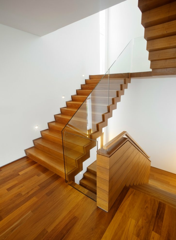Interior-Design-Stunning-Design-Modern-Wooden-Staircase-Ith-Solid-Design-Stunning-modern-staircase-design-pictures Turn Your Old Staircase into a Decorative Piece
