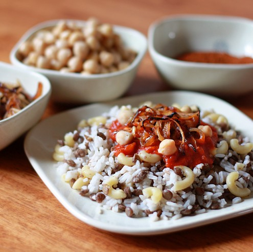 "Koshari-1-495x494 The National Dish Of Egypt ""Koshary"" With Its Recipe"