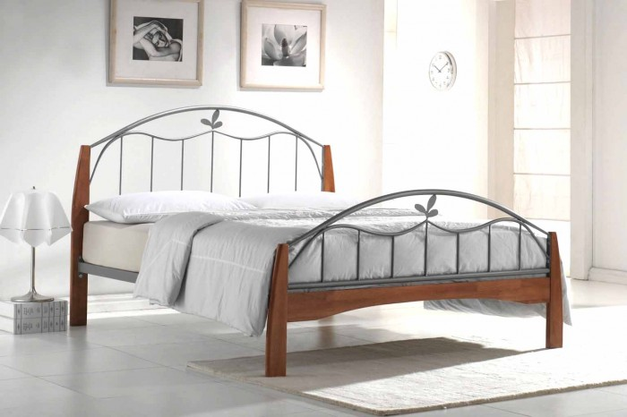 Metal_Bed Luxury Designs For Beds Made Of Metal