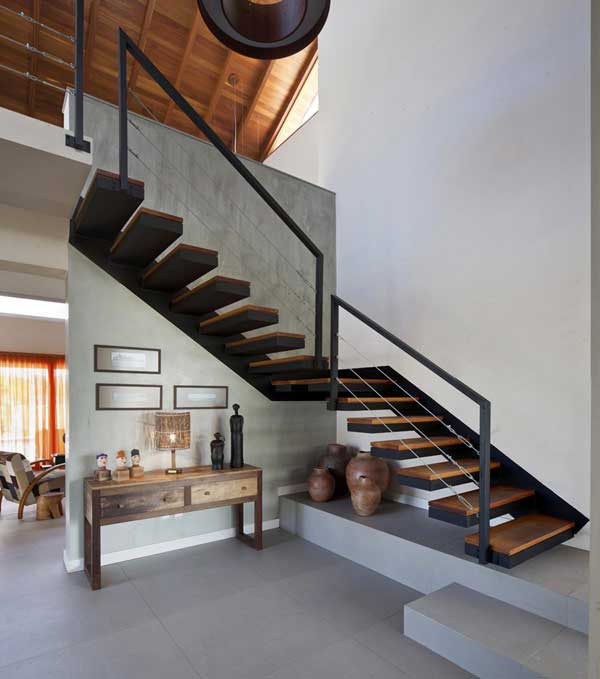 Minimalist-Modern-Staircase-Design-Ideas Turn Your Old Staircase into a Decorative Piece