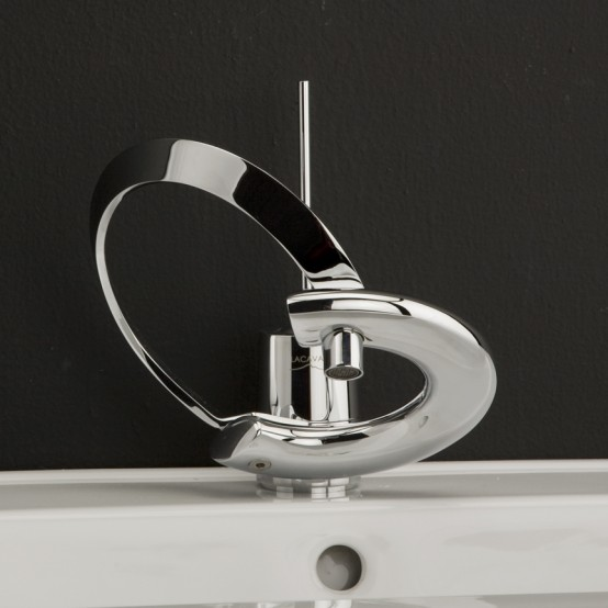 Modern-Bathroom-Faucets-1 32 Creative Sink Faucets In Contemporary And Modern Designs