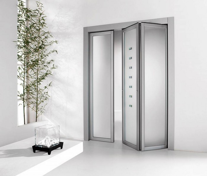 Modern-Glass-Folding-Doors Remodel Your Rooms Using These 73 Awesome Interior Doors