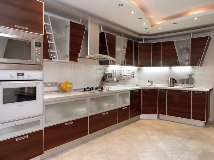 Modern-Kitchen-11 45 Elegant Cabinets For Remodeling Your Kitchen