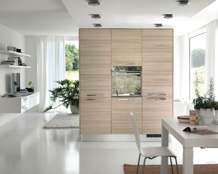 Modern-Kitchens-with-Few-Pops-of-Color 45 Elegant Cabinets For Remodeling Your Kitchen