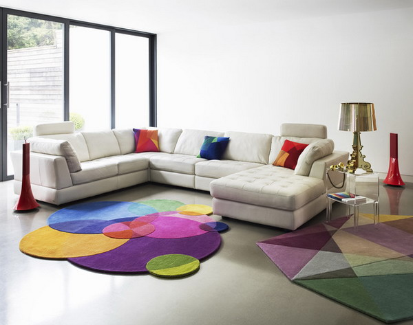 Modern-Living-Room-Ideas-with-Colored-Carpet 8 Tips On Choosing A Carpet For Your Living Room