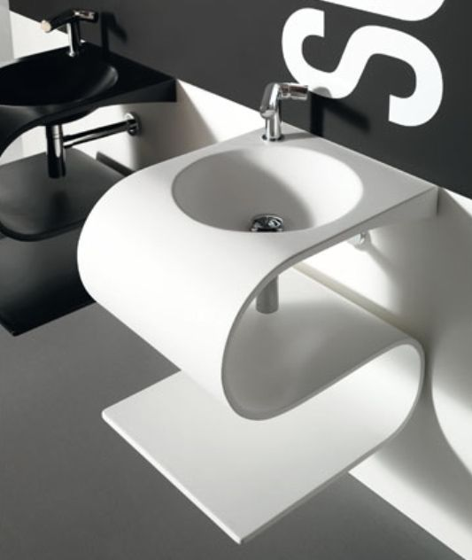 17 Modern Designs Of Bathroom Sinks Pouted Online Magazine Latest Design Trends Creative