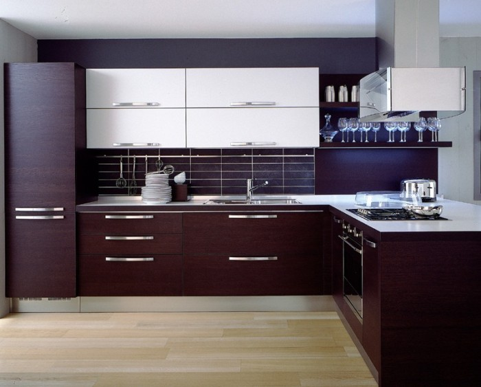 Modern-Wooden-Cabinet-Ideas-Kitchen 45 Elegant Cabinets For Remodeling Your Kitchen