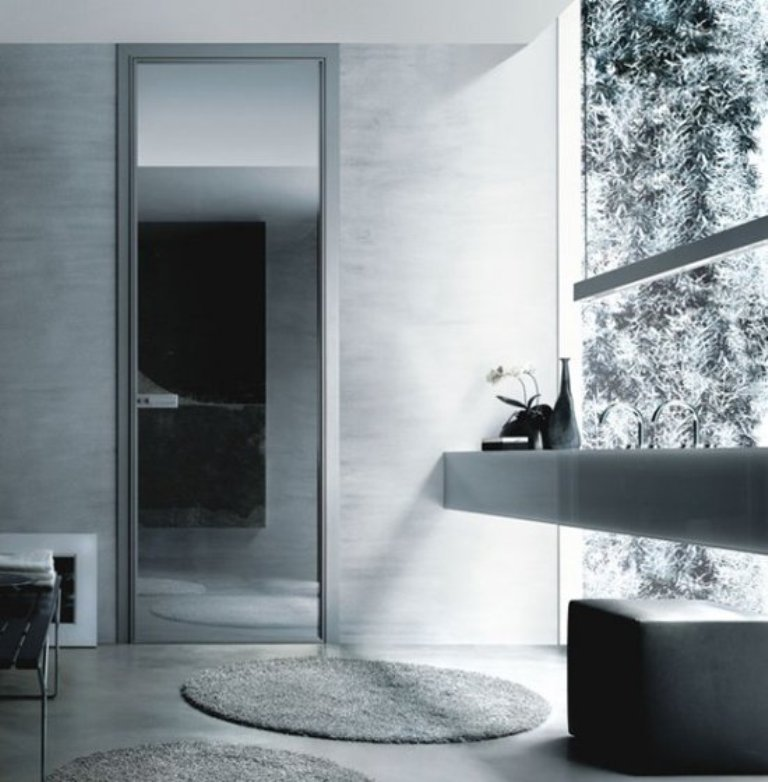 Modern-interior-glass-doors-Spin-by-Rimadesio-6-554x564 Remodel Your Rooms Using These 73 Awesome Interior Doors