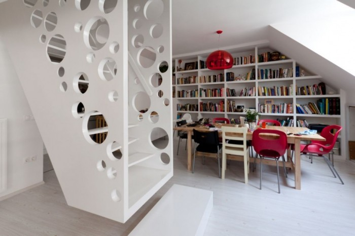 Office-Emmental-Stairs-Design-by-Biljana-Jovanovic-Home-Design-Photos Turn Your Old Staircase into a Decorative Piece
