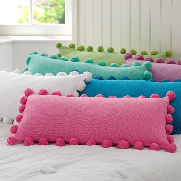 PomPomPillowCoverimg89l-590x590 21 Unique And Cute Pillows Designs