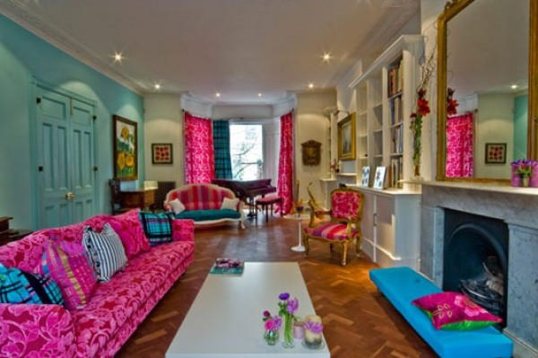 Portland-Colorful-Interior-Design-Type-e1329984956514 Get A Delight Interior By Applying Some Colorful Designs