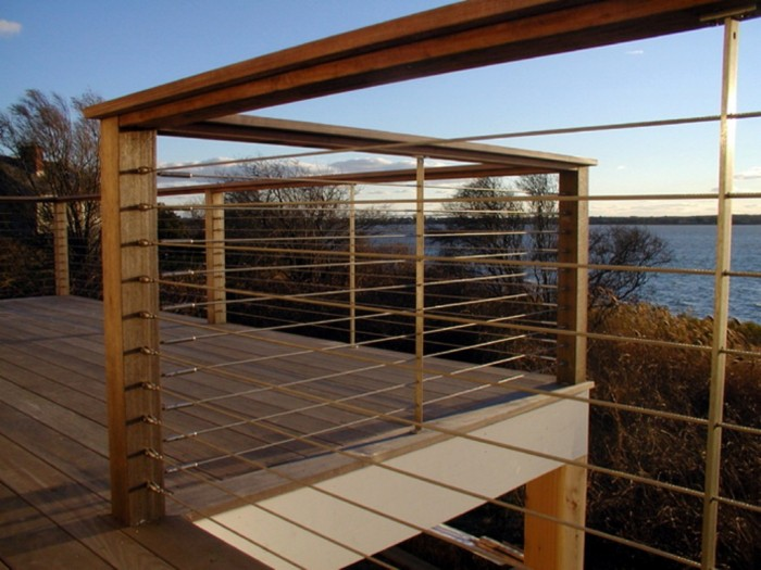 Railings-Deck 60+ Best Railings Designs for a Catchier Balcony