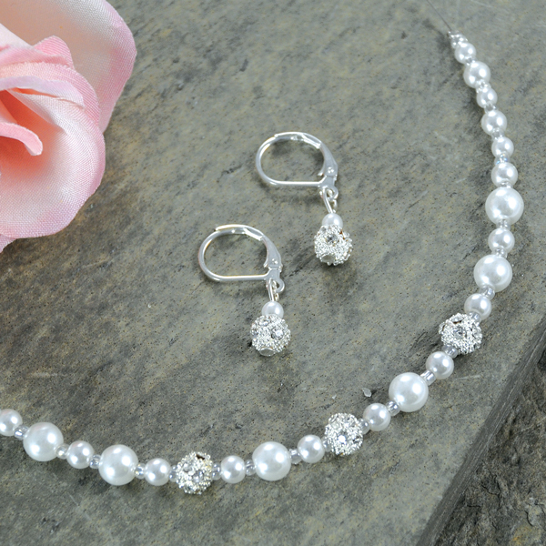 S8870SW An Elegant Collection Of Wedding Jewelry Sets