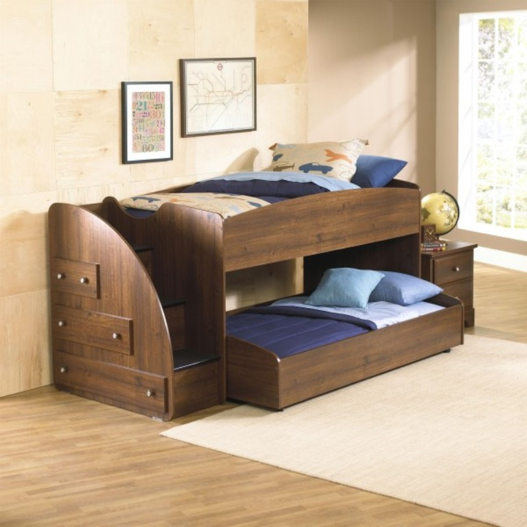 STA-65950-Parker-Loft-Bed-trundle-only-e1360787227113 Make Your Children's Bedroom Larger Using Bunk Beds