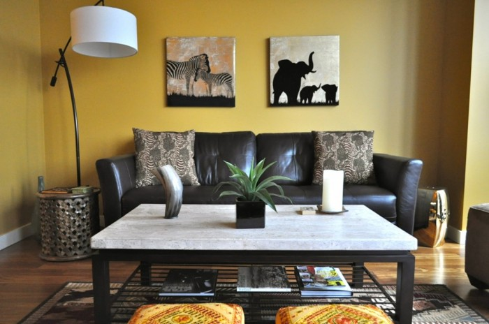 Safari-African-inspired-living-room-1-1024x680 African Style In The Interior Design