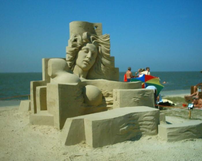 Sand_Art_Festival_Tossens 30 Stunning Installations Made Of Sand Beach
