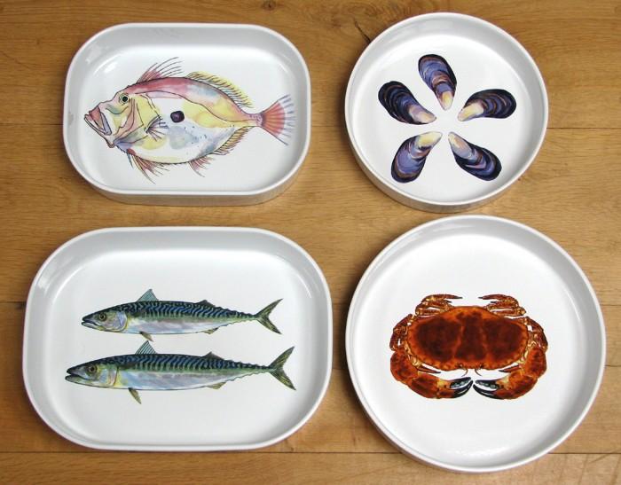Sea-collection 20 Wonderful Designs Of Ceramic Plates