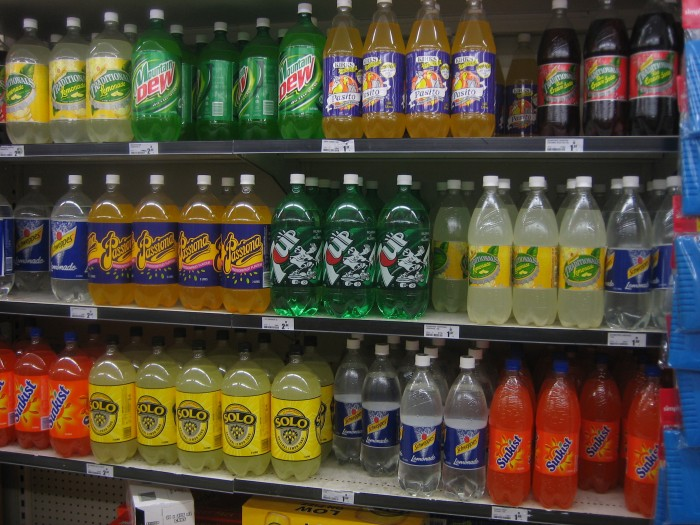 Soft_drink_shelf 15 Ways You Should Know to Start Eating Healthy