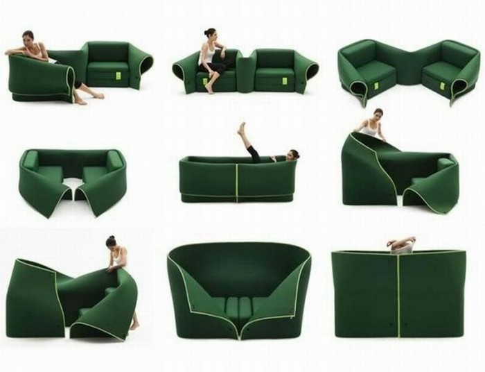 Sosia-sofa-bed 50 Creative and Weird Sofas for Your Home