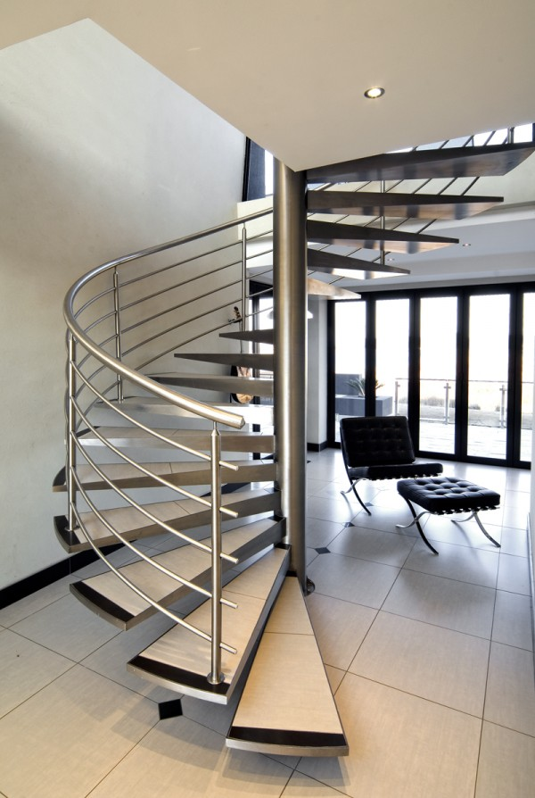 Spiral-Floating-Staircase Turn Your Old Staircase into a Decorative Piece