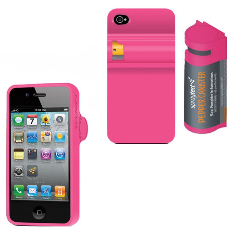 Spraytect-Pepper-Spray-iPhone-Case Do You Know How to Protect Yourself? Self-Defense for Women