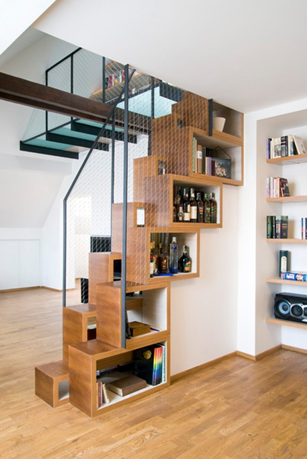 Staircase-design-ideas-thoughtful-wooden-staircase-design-iroonie Turn Your Old Staircase into a Decorative Piece